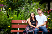 Hannah & Ryan: Engagement Session at Price Park in North Canton Ohio