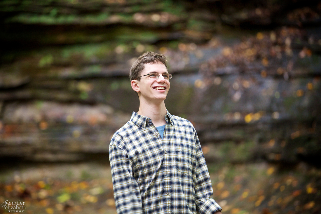 Joel's Senior Session in Chagrin Falls, Ohio