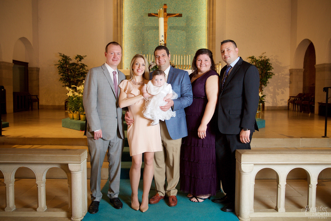 Isabella: Christening Ceremony in Worthington, Ohio