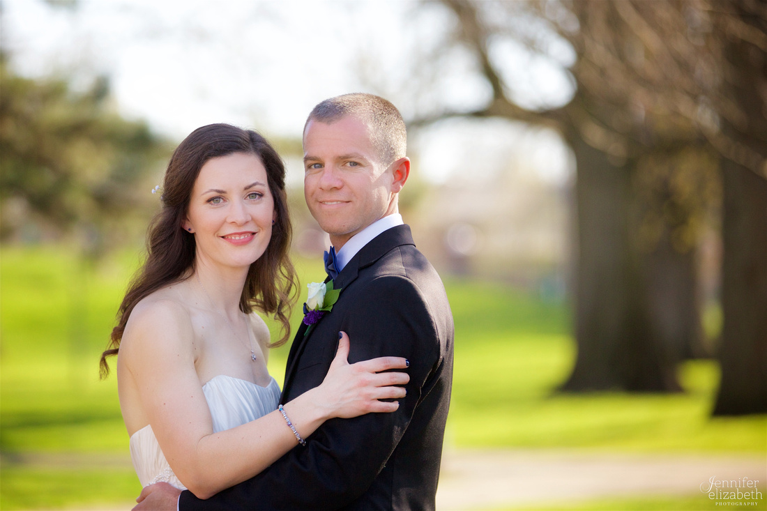 Megan & Bryan: Columbus, Ohio Wedding in German Village