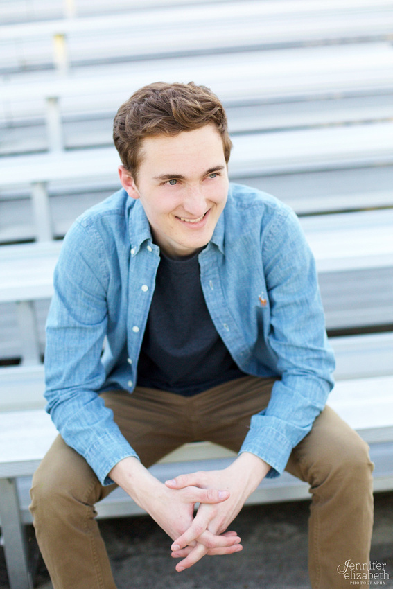 Steve: Senior Portrait Session in Wadsworth, Ohio