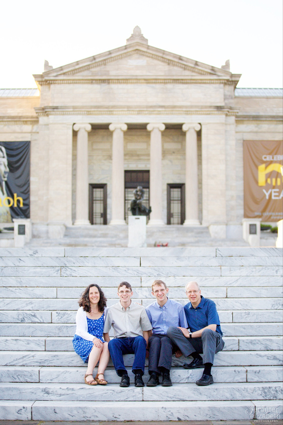 The J Family: Portrait Photography Session in Cleveland, Ohio