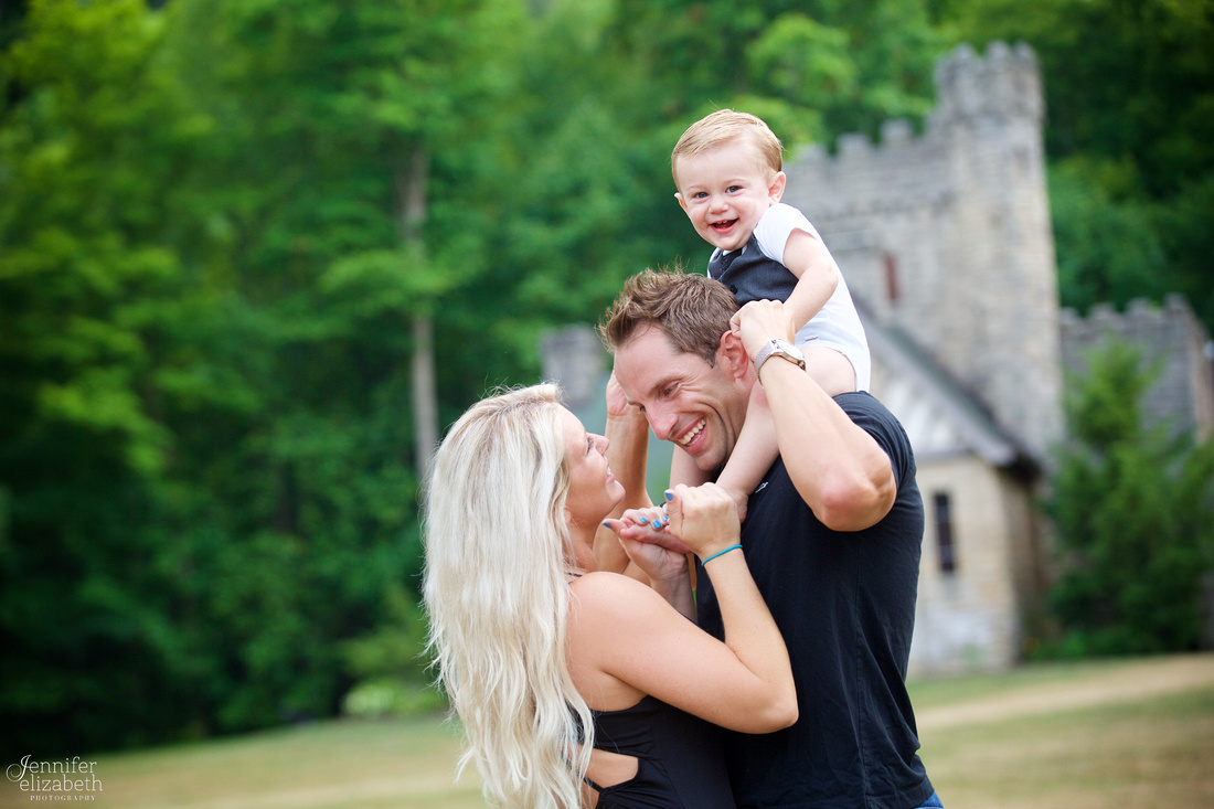 Jaxon's One Year Old Session in Willoughby Hills, Ohio