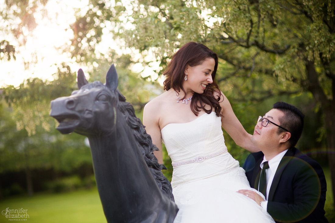 Courtney & Peter: Wedding Reception at Landerhaven in Cleveland Ohio