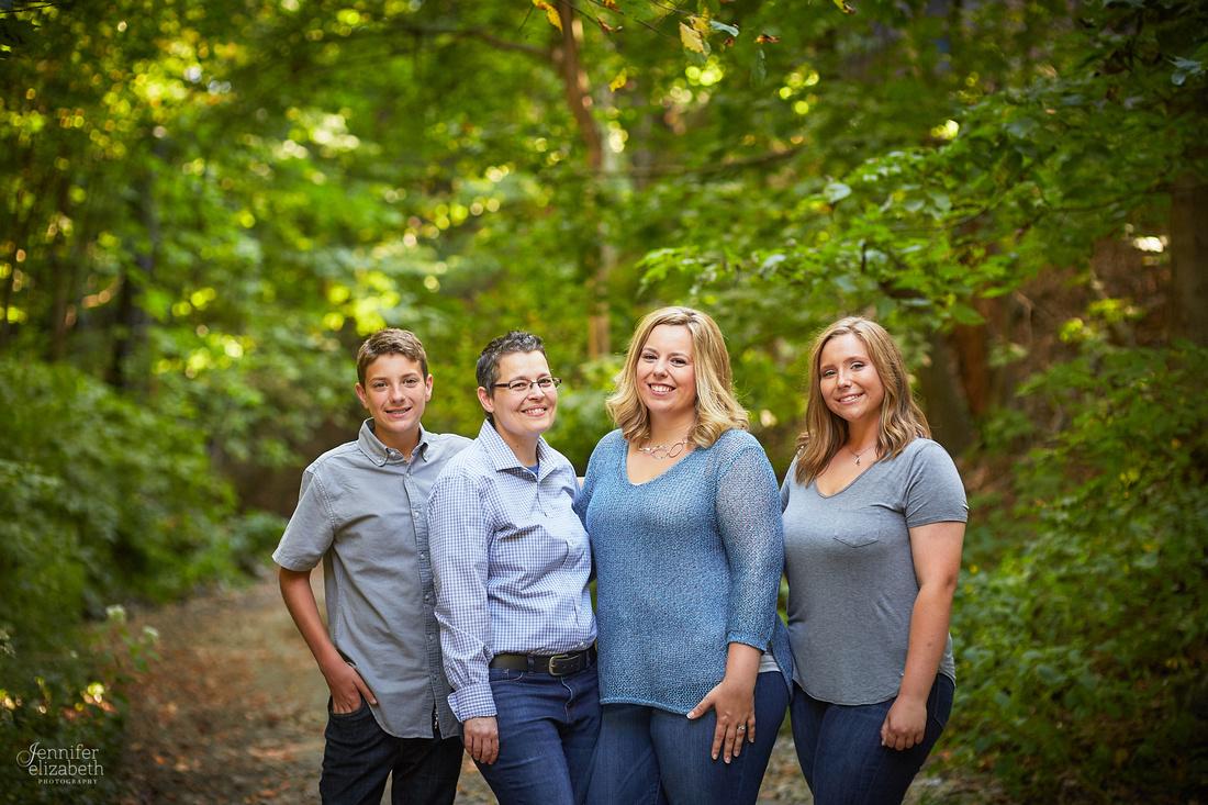 Summer's Senior and Family Portrait Session in Columbus, Ohio