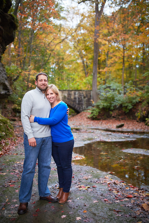 Laura & Matt: Engagement Session at Fortier Park