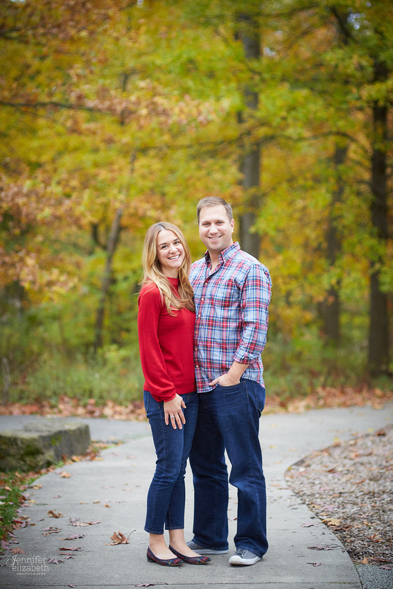 The M Family's Portrait Session at Horseshoe Lake in Shaker Heights