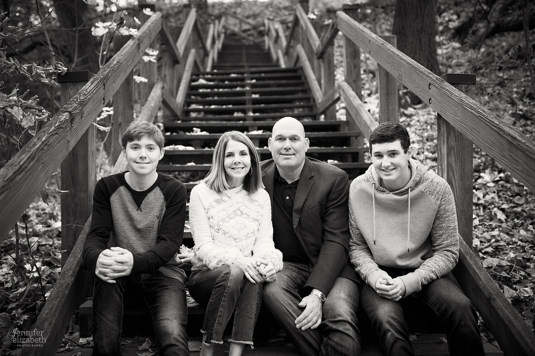 The G Family: Portrait Session at Glen Echo Park