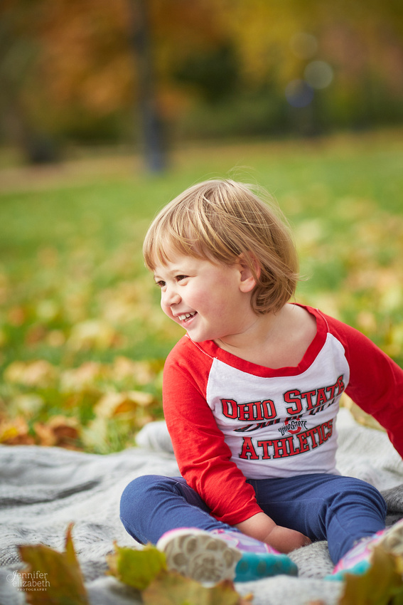 The C Family: Fall Portrait Session in Columbus, Ohio