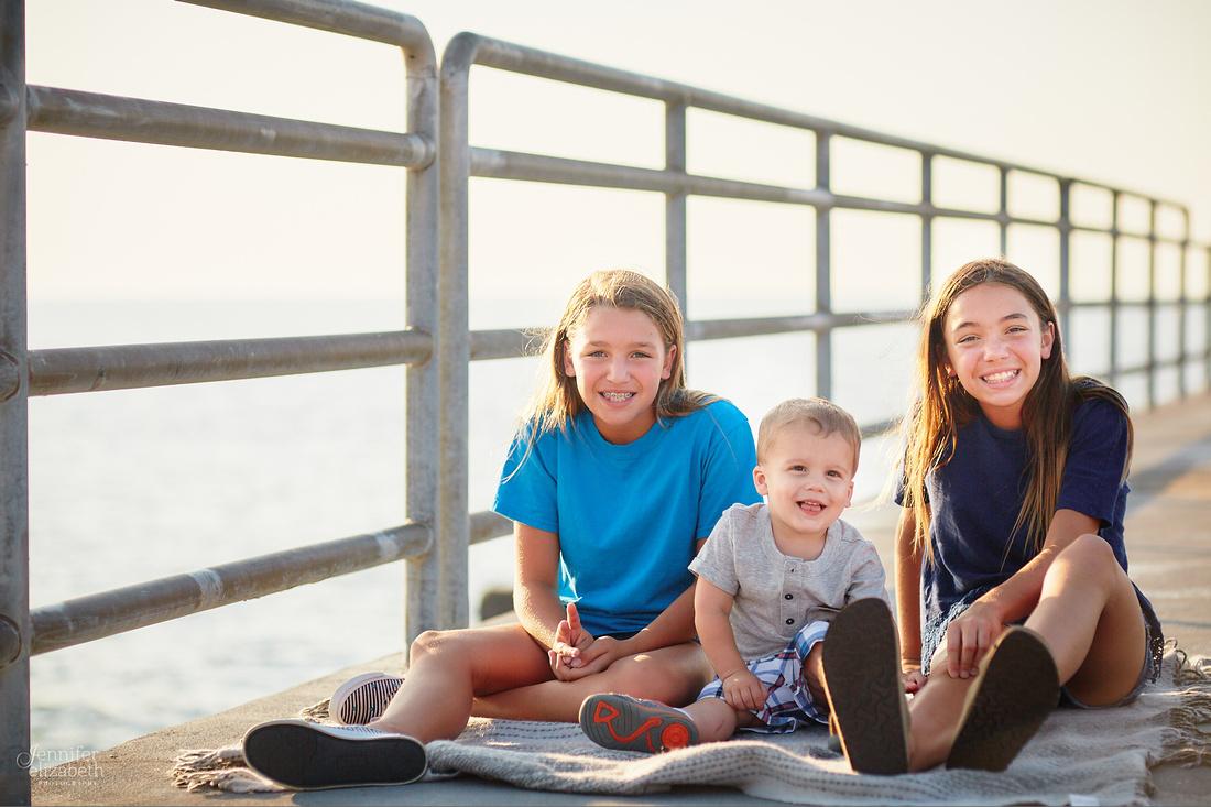 The V Family: Portrait Session at Edgewater Park