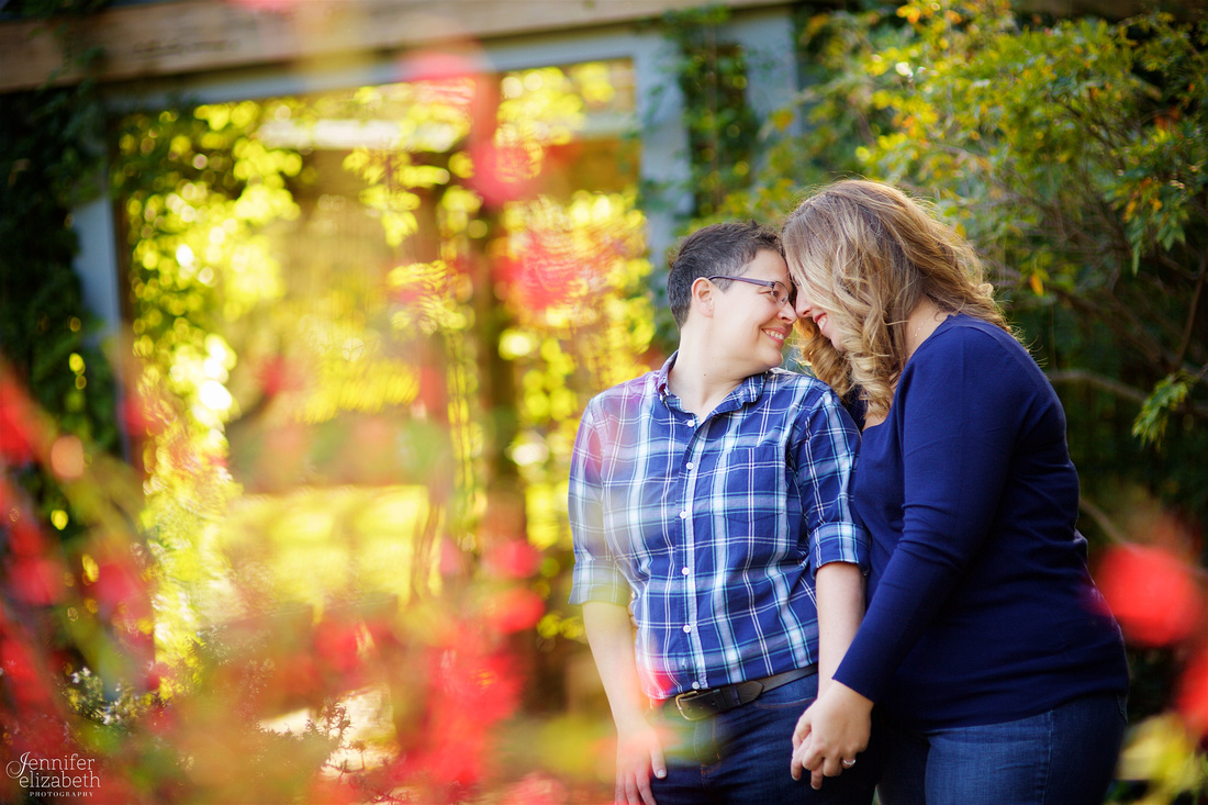 Kim & Aj: Same Sex Engagement Session in Westerville, Ohio