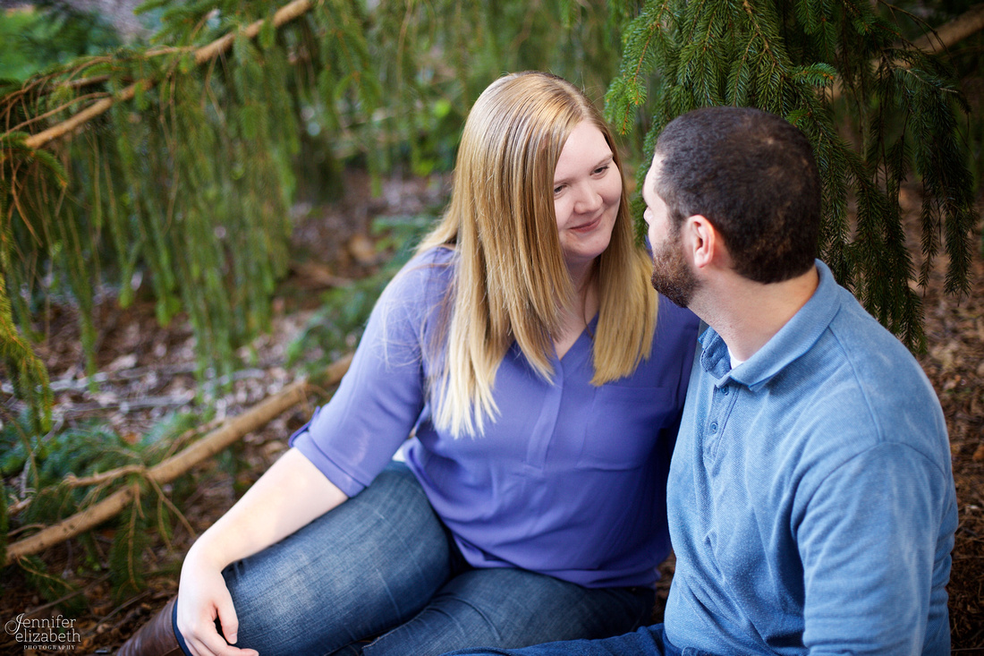 Melissa and Charles: Inniswood Gardens Engagement Session