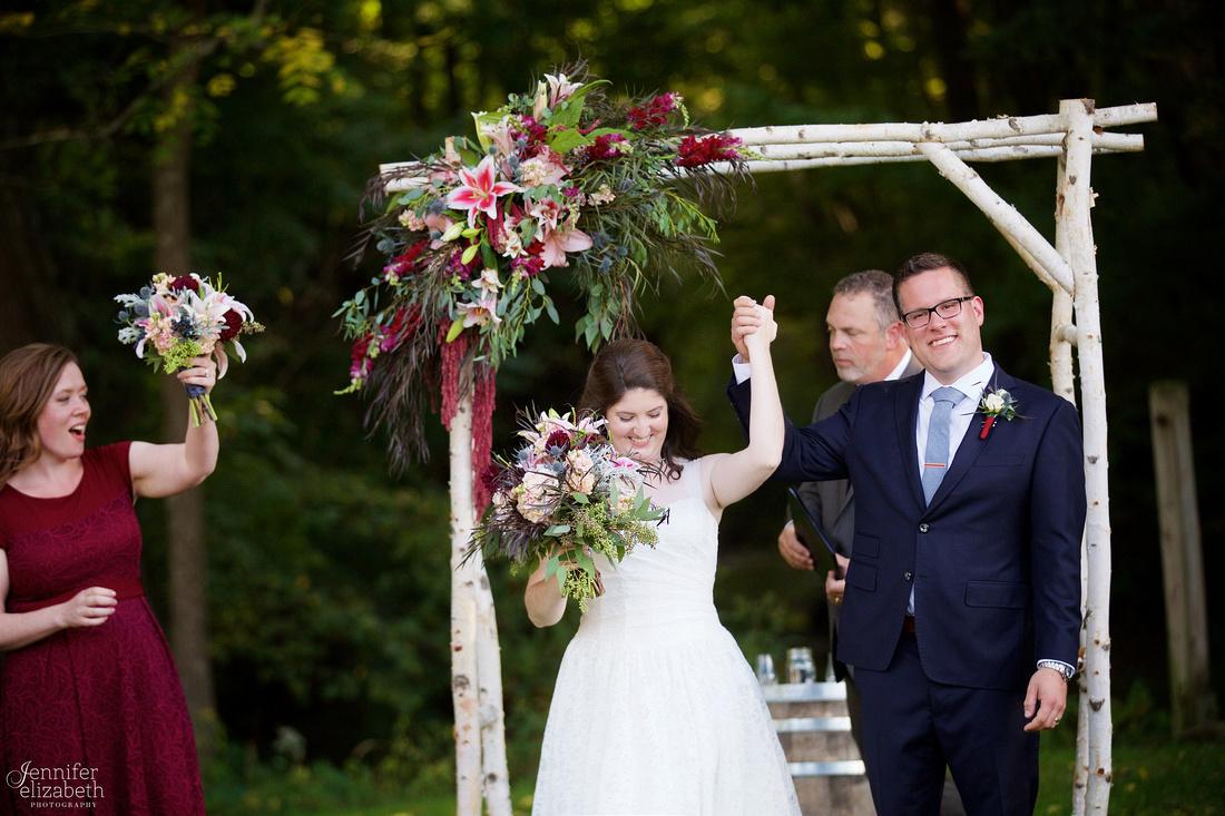 Heather & Jackson: Wedding at Rockmill Brewery