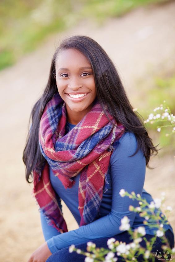 Kiara: Senior Portrait Session in Worthington, Ohio