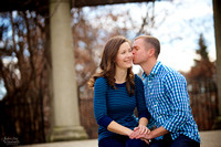 Megan & Bryan: Engagement Session in Columbus, Ohio