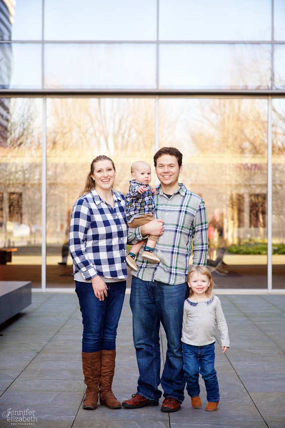 The D Family: Portrait Session at the Cleveland Museum of Art