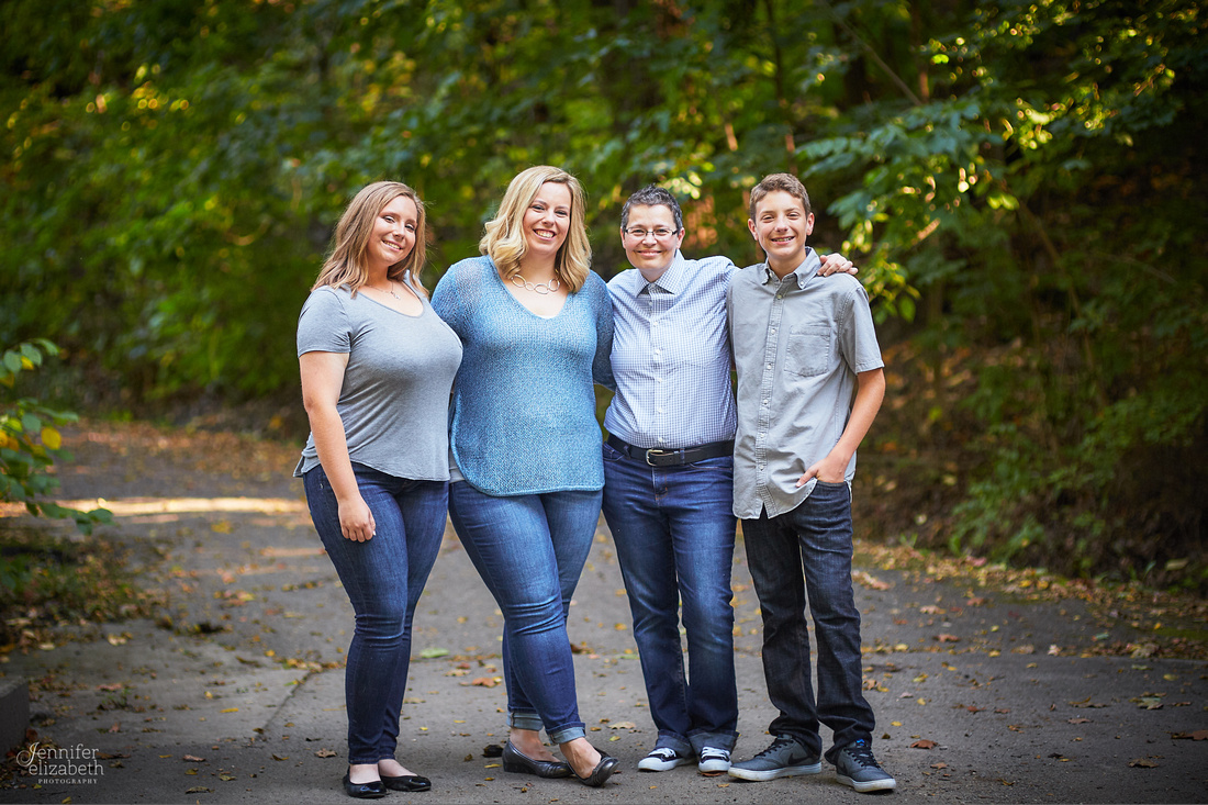 Summer's Senior and Family Portrait Session in Columbus, Ohio