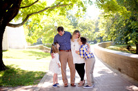 The L Family Portrait Session at Denison University
