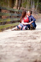 Christy & Casey: Engagement Portrait Session in Cleveland Ohio