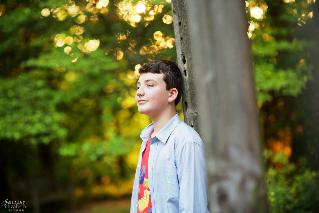Max: Portrait Session at Inniswood Metro Gardens in Westerville