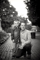 The D Family: Portrait Session at Schiller Park