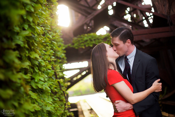 Aleks & Ben: Portrait Session in Downtown Cleveland