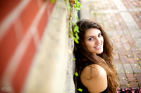 Lily' Senior Session in Goodale Park and the Short North