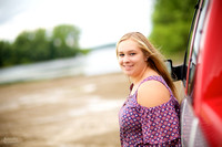 Samantha's Senior Portrait Session at Mosquito Lake in Cortland, Ohio