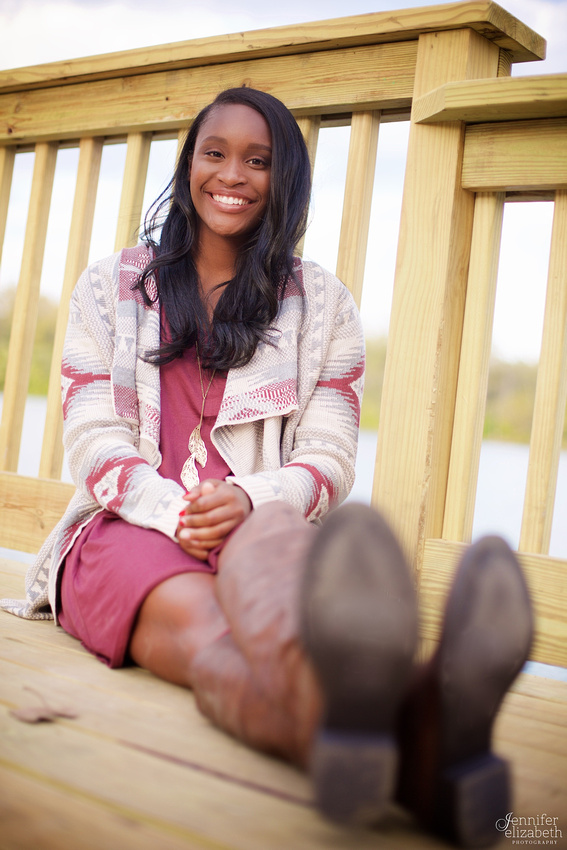 Kiara: Senior Portrait Session in Worthington, Ohio